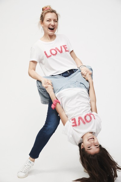 Kendall Love T-Shirt mit Haarband